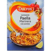 Sazonador para paella marinera DUCROS, caja 27 g