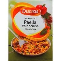 Sazonador para paella valenciana DUCROS, caja 9 g