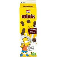 Galleta Minis The Simpsons chocolateadas ARLUY, caja 275 g