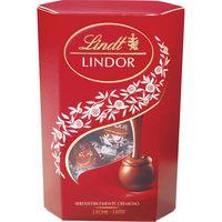 Bombones de leche LINDOR Cornet Lindor, caja 500 g