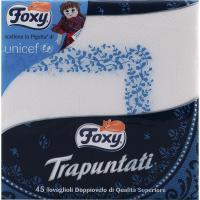 Servilletas Trapuntati FOXY, paquete 45 unid.