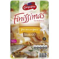 Pechuga de pavo braseada CAMPOFRÍO Finíssimas, bandeja 115 g