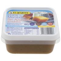 Membrillo con bífidus sin azúcar EL QUIJOTE, tarrina 400 g
