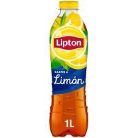 Té negro limón LIPTON, botella 1 litro
