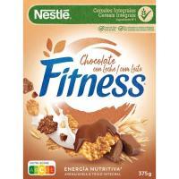 Cereal de chocolate NESTLÉ Fitness, caja 375 g