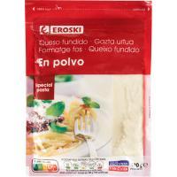 Queso en polvo EROSKI, bolsa 100 g