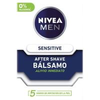 After Shave bàlsamo Sensitive NIVEA For Men, frasco 100 ml