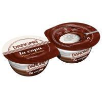 Copa de chocolate-nata DANONE, pack 2x110 g