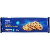 Galleta Cookies EROSKI, paquete 225 g