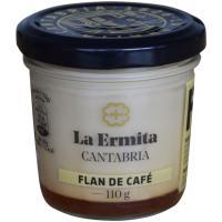 Flan de café LA ERMITA, tarro 110 g