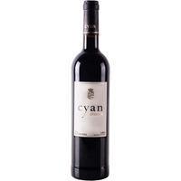 Vino Tinto Crianza CYAN 12, botella 75 cl