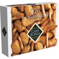 Tejas-cigarrillos CASA ECEIZA, caja 300 g