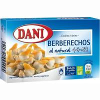 Berberecho 40/50 piezas DANI, lata 63 g