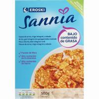 Copos integrales EROSKI Sannia, caja 500 g