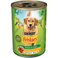 Alimento con buey-pollo FRISKIES, lata 800 g