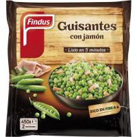 Guisantes con jamón FINDUS Salto, bolsa 450 g