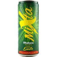 Cerveza MAHOU Shandy Mixta, lata 33 cl