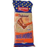 Pan tostado tradicional RECONDO, 80 rebanadas, paquete 720 g