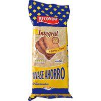 Pan tostado integral RECONDO, 80 rebanadas, paquete 720 g