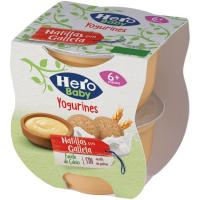 Merienda de galleta HERO, pack 2x130 g