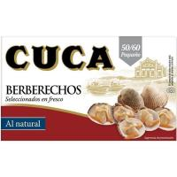 Berberecho 50/60 piezas CUCA, lata 63 g