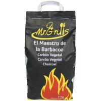 Carbón vegetal MR GRILLS, saco 3 kg