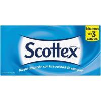 Pañuelo facial 3 capas SCOTTEX, caja 70 uds.