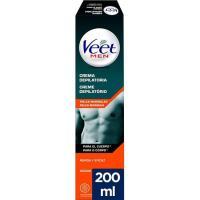 Depilatorio crema gel para hombre VEET, tubo 200 ml