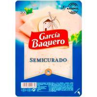 Queso semicurado mezcla G. BAQUERO, lonchas, bandeja 200 g