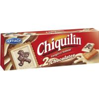 Chiquilín 2 chocolates ARTIACH, caja 150 g