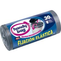 Bolsa de basura elástica resis. 30 l. HANDY BAG, paquete 15 unid
