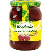 Remolacha roja en rodajas BONDUELLE, frasco 305 g
