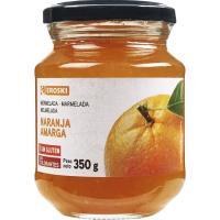 Mermelada de naranja EROSKI, frasco 350 g