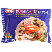 Fideos sabor a gamba KUNG-FU, paquete 85 g