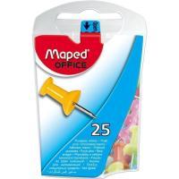 Chinchetas memo 10mm colores surtidos MAPED, caja 25uds