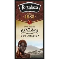 Café molido FORTALEZA G. Orígenes, paquete 250 g