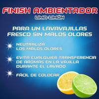 Ambientador lavavajillas citro-fresh FINISH, pack 1 ud