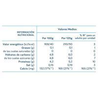 Leche fermentada desnat. natural edulcorado DANONE, pack 4x120 g