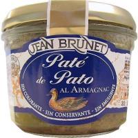 Paté de pato J. BRUNET, tarro 180 g