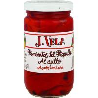 Pimiento de piquillo de primera J. VELA, frasco 250 g
