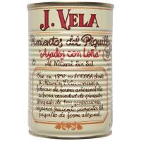 Pimiento de piquillo artesano extra J. VELA, lata 330 g