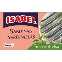 Sardinilla en aceite de Oliva ISABEL, lata 57 g