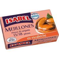Mejillón en escabeche 13/18 piezas ISABEL, lata 115 g