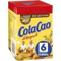Cacao soluble COLA CAO, 6 unid., caja 108 g