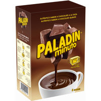 Chocolate a la taza PALADÍN, 5 sobres, caja 165 g