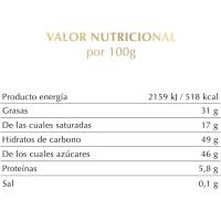Chocolate de naranja-almendras LINDT Excellence, tableta 100 g