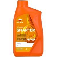 Aceite moto sintético 2T, scooter REPSOL, envase 1 L.