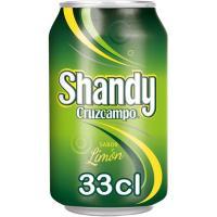 Cerveza CRUZCAMPO Shandy, lata 33 cl