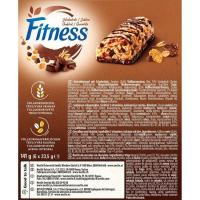 Barritas de chocolate NESTLÉ Fitness, 6 unid., caja 141 g