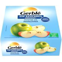 Compota de manzana GERBLÉ, paquete 400 g